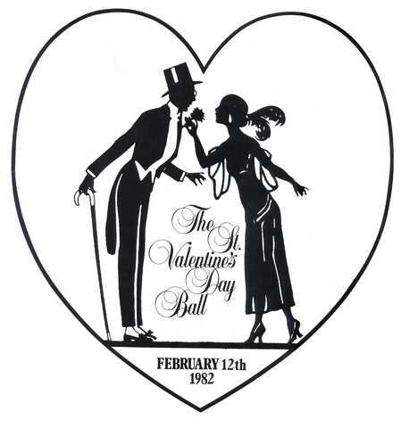 The St. Valentine's Day Ball : menu.
